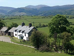 Orsedd Wrn Farmhouse self catering Betws-y-Coed, North wales